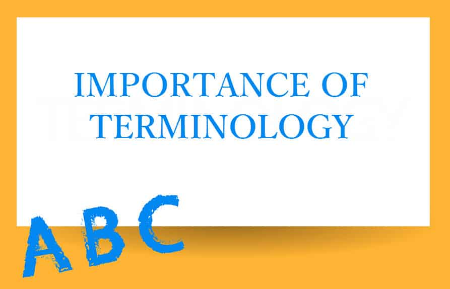 The Importance of Terminology in Legal Translations