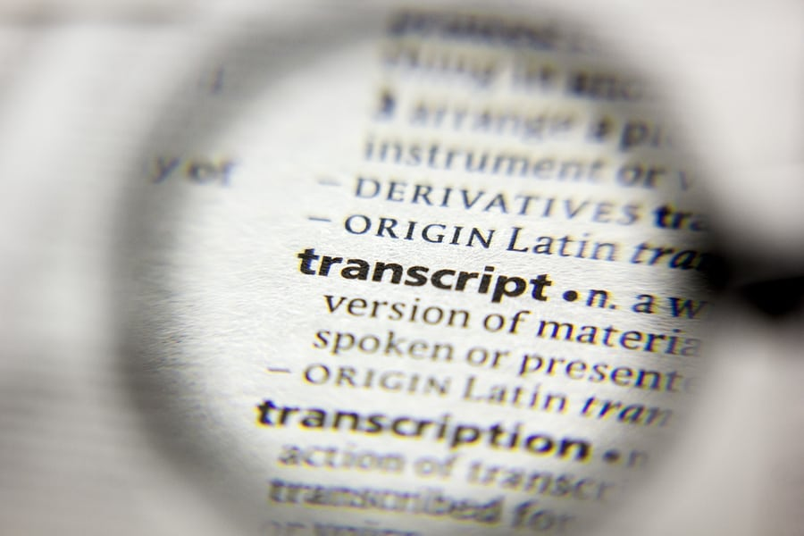 Why Transcription is Important for Your Legal Business