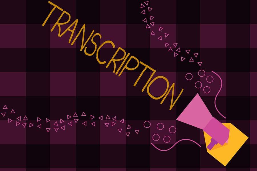 What is Audio Transcription?