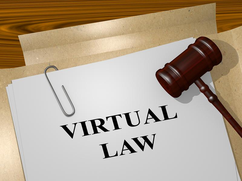 What is a virtual law firm?