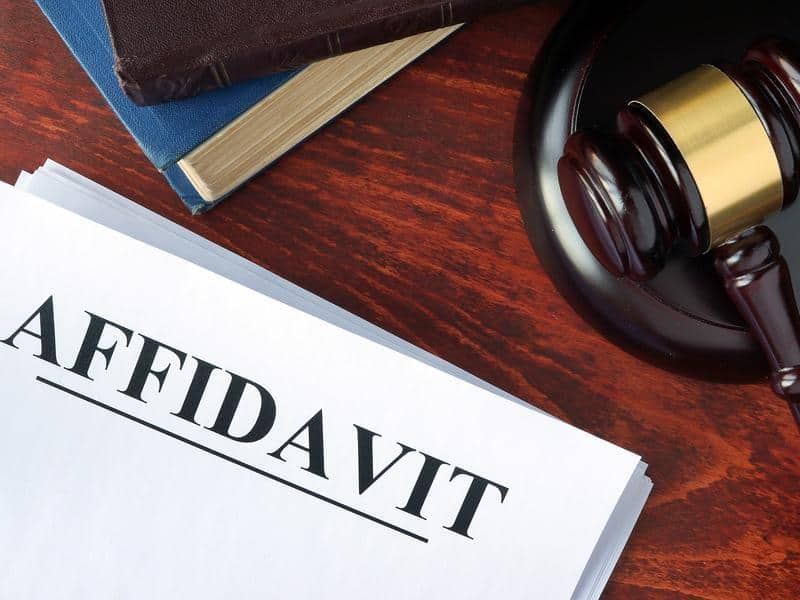 Affidavit Translations
