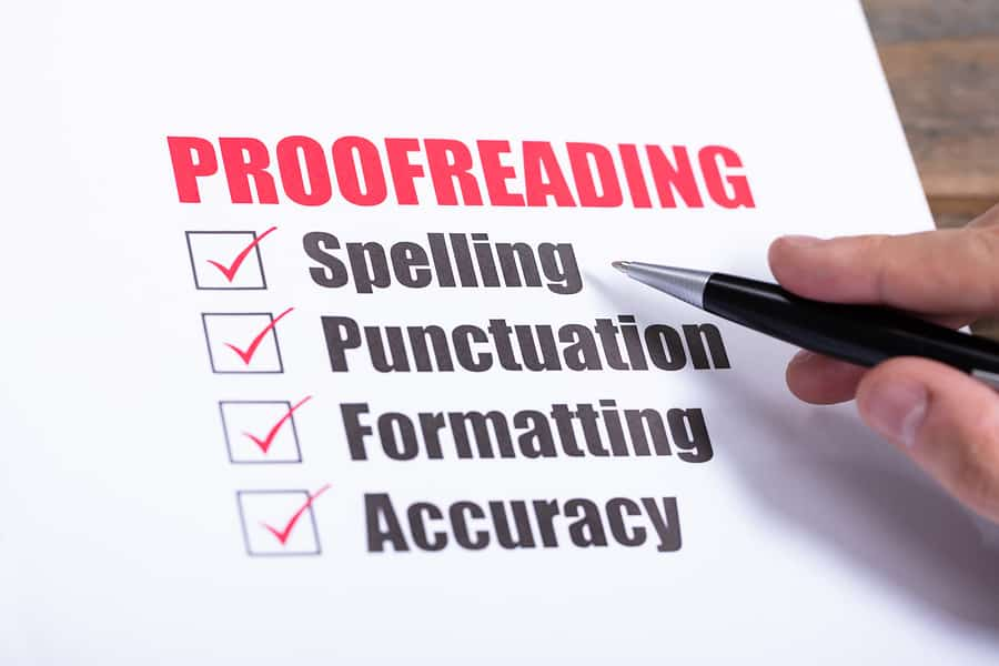 12 Do's and Don'ts for a Successful Proofreading