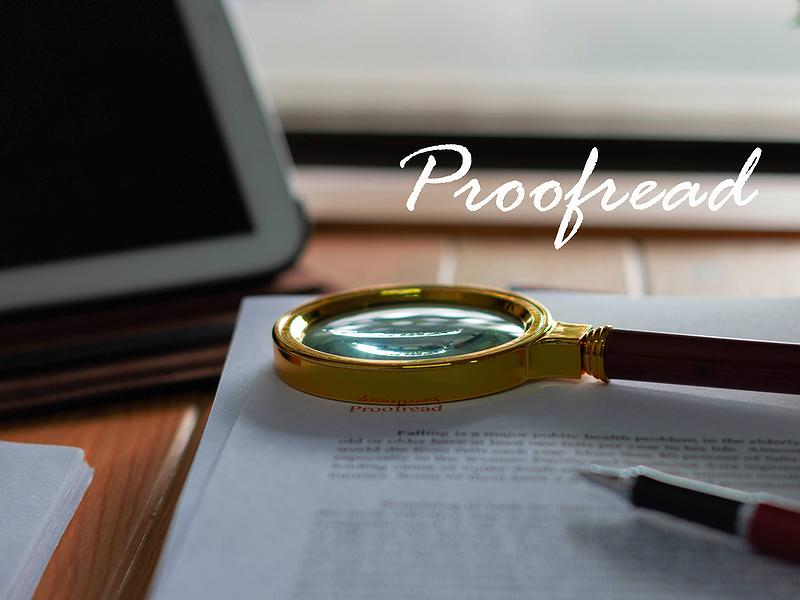Some Ideas for Proofreading a Translation