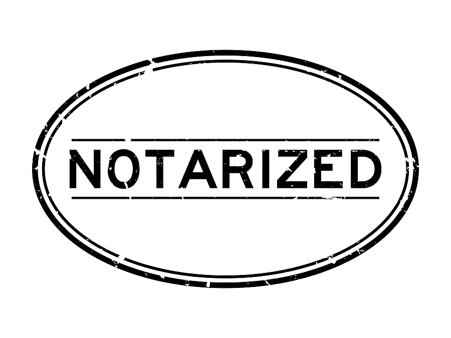 Are Certified Documents the same as Notarized Documents?